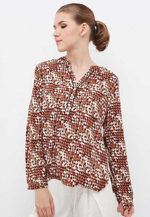 Alexa Abstract Brown