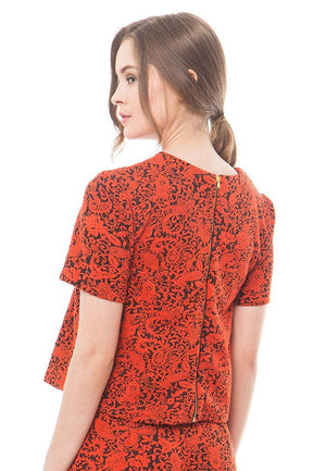 86092-Marselin-Jacquard-Blouse-B-Orange