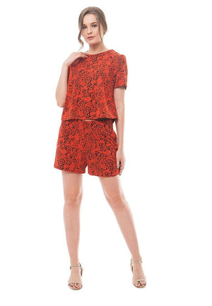 86092-Marselin-Jacquard-Blouse-TL-Orange