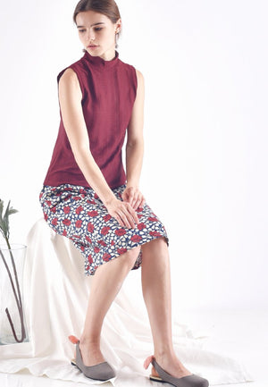 65986-Kaiza-Print Red-Lookbook
