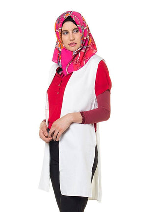 Hijab by Blanik Lindy Off White
