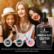 100% Organic Cold-Pressed Jamaican Black Castor Oil