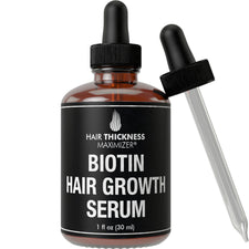Hair Growth Serum With Biotin Oil (1 oz)