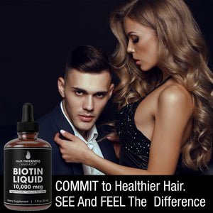 Liquid Biotin Drops 10,000mcg Extra Strength