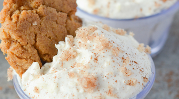 Low Carb Cinnamon Cheesecake Dip