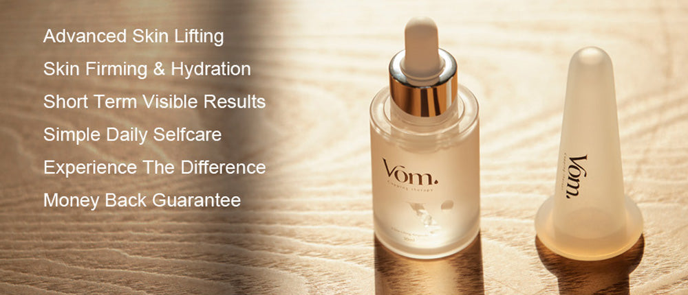 Advanced Skin Lifting Skin Firming & Hydration Short Term Visible Results Simple Daily Selfcare Experience The Difference Money Back Guarantee
