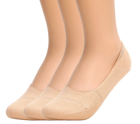 Mens Anti-Slip No Show Socks