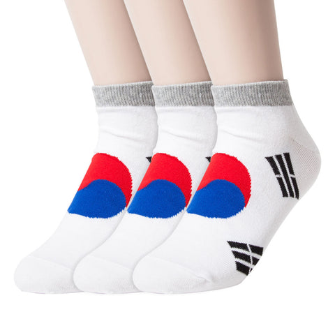 Flag and Character Ankle Socks