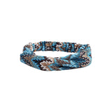 Blue Leaf Headband