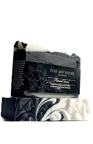 "Activated Charcoal ""Deep Cleansing"" Soap Bar  (SHIPS 4/12)"