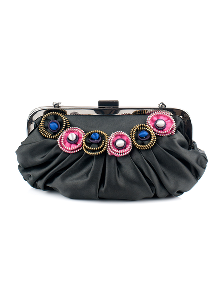 Button type purse