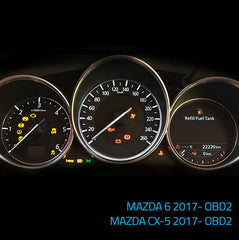PROGRAM NR 457 - MAZDA 6 2017 CX-5 2017 mileage correction