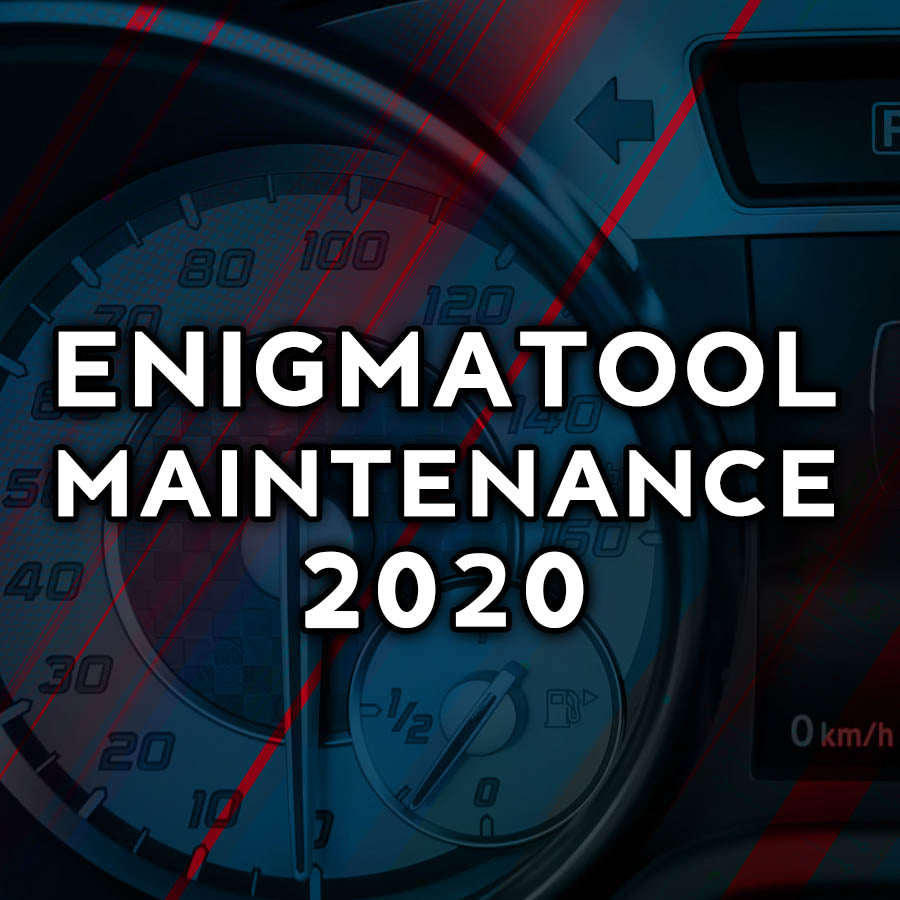 Enigmatool Maintenance 2020