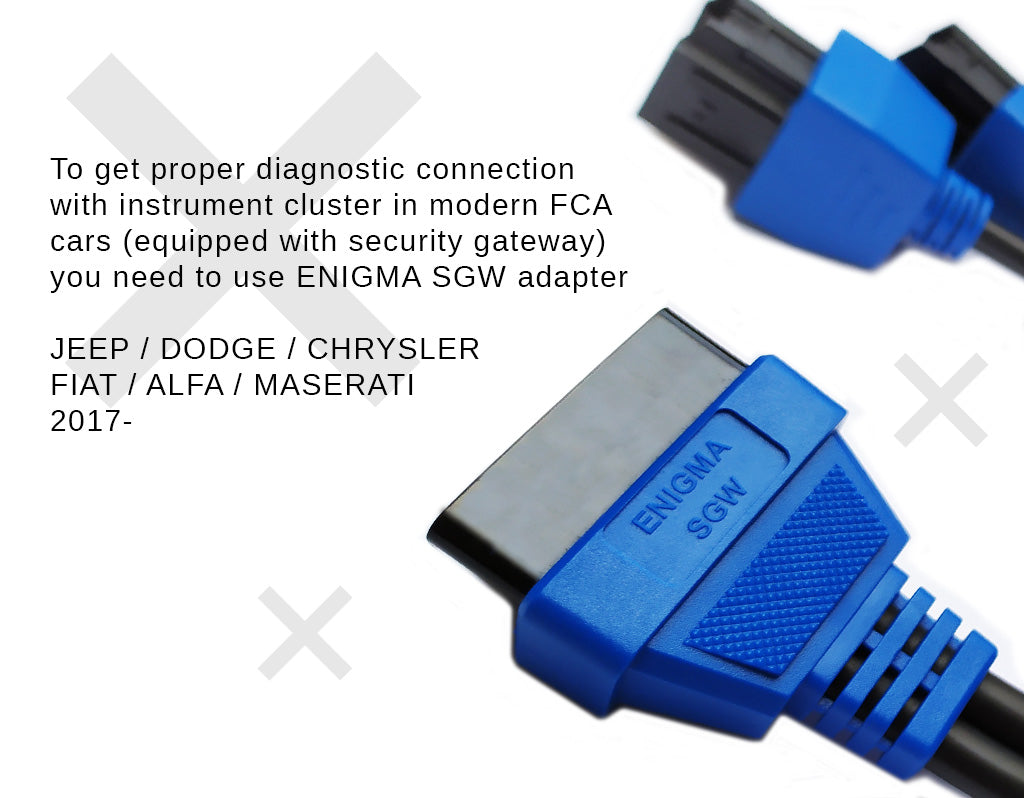 Enigma SGW adapter - security module bypass FCA