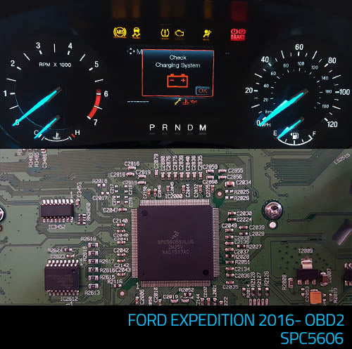PROG 437 - Ford Expedition 2016- OBD2 (CONTINENETAL SPC5606) mileage correction software