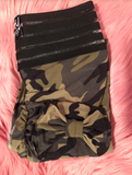 Booty Leggings Bow Pocket Extra High Waisted Butt Scrunch Stretch Booty in Camo
