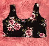 Booty Leggings Cropped Bra NEW ARRIVAL Top in Ring Around the Rosey