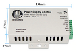 Free Shipping | 12VDC Access Control Power Supply Switch 3A/5A with Time Delay AC90V-260V Obo Hands - iWynx