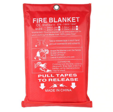Free Shipping | 1MX1M Fire Emergency Survival Fire Shelter Blanket A0310 MayRecords - iWynx