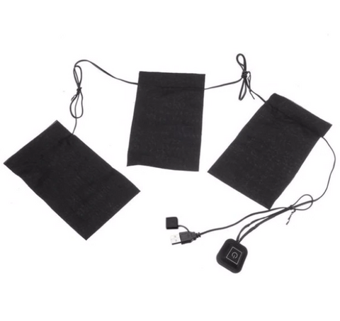 Free Shipping | 1 Set USB Electric Themal Heating Pad Outdoors Lambda - iWynx