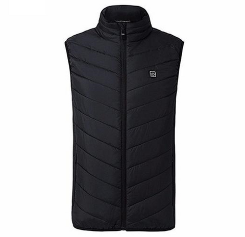 Unisex USB Thermal Electric Heated Warmer Jacket Vest