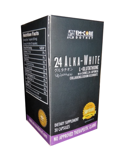 24 Alka-White 4-IN-1 L-Glutathione Supplement Dotnet Wink Collection - Periwinkle Online