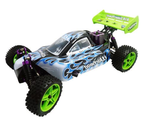 HSP 1/10 Scale Nitro Power 4wd Remote Control Car 94106 Off Road Buggy High Speed * HSP Remote Controlled Cars - Periwinkle Online