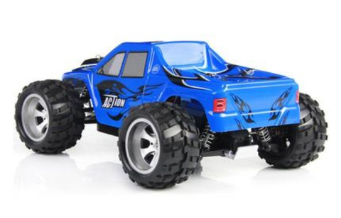 50KM/H Wltoys A979 2.4G 4CH 4WD High Speed Off-Road Stunt Racing Super Power OEM - Periwinkle Online