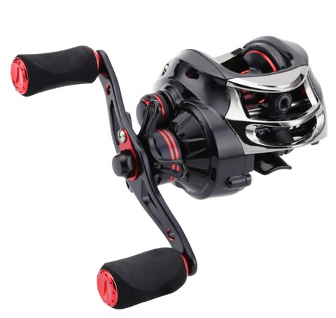 SeaKnight 12 Bearings Double Brake HG Baitcasting Fishing Reel 6.3:1 7.0:1 Viper 7.5K Drag