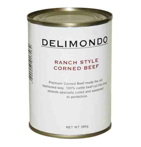 Delimundo Ranch Style Corned Beef 380gm