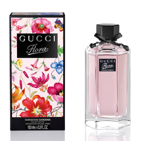 Gucci Flora Gorgeous Gardenia EDT Spray 100ml Gucci Scents - Periwinkle Online
