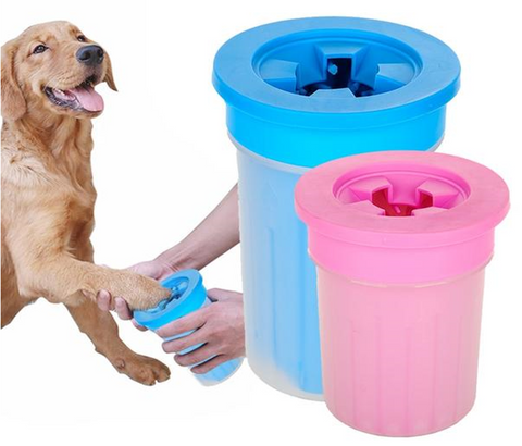 Pet Foot Clean Soft Plastic Cup Washer For Dogs and  Cats