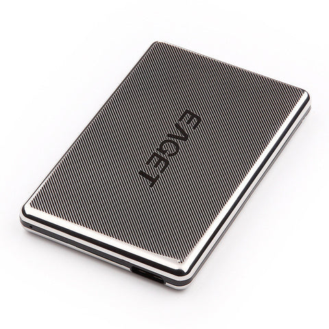EAGET 1TB External Hard Drive 500GB HDD Stainless Steel Body