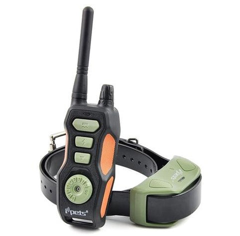 Ipets 618-1 Rechargeable and Waterproof Shock Training Collar 800 Meter Range