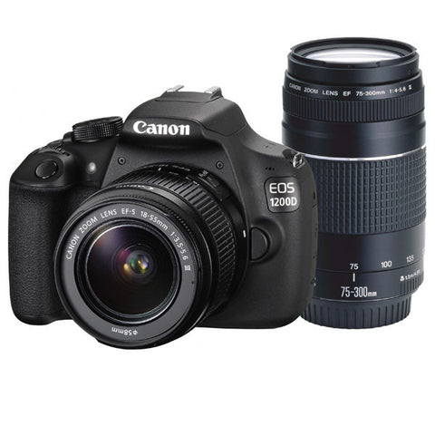 Canon EOS 1200D DSLR Camera Body with EF-S 18-55mm f/3.5-5.6 III Lens