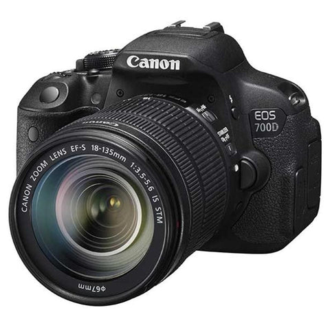 NEW Canon EOS 700D / Rebel T5i Digital SLR Camera with EF-S 18-135mm IS STM Lens - Periwinkle Online