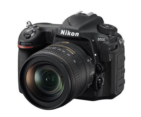 NEW Nikon D500 DSLR 20.9 MP Camera Body Only Wi-Fi 4K Video - Periwinkle Online