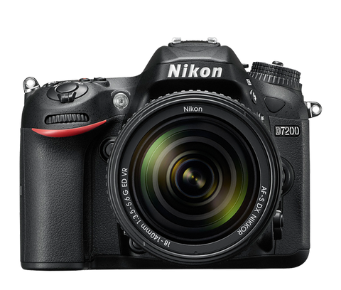 Nikon D7200 Wifi / NFC enabled DSLR Digital SLR Camera Body * Nikon DSLR w/ Shipping Fee - Periwinkle Online