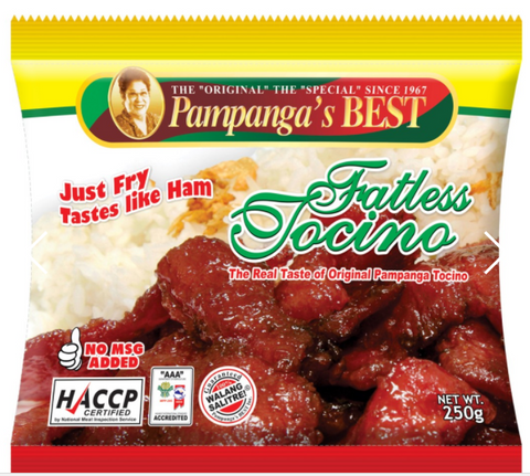 Fatless Pork Tocino 480gm Pampanga's Best Singapore Items - Periwinkle Online