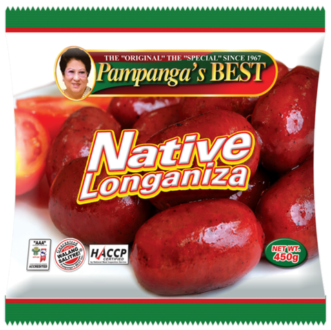 Native Longaniza 420gm Pampanga's Best Singapore Items - Periwinkle Online