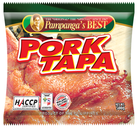 Pampanga's Best Pork Tapa 480gm
