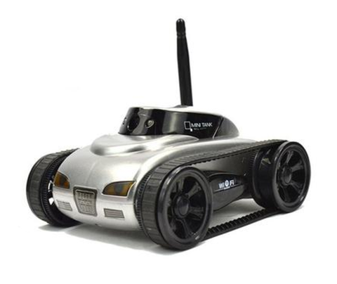 Free Shipping | Abbyfrank RC Mini Wifi Spy Tank Car IOS Phone Remote Control 777-270 With 0.3MP Camera Abbyfrank - iWynx