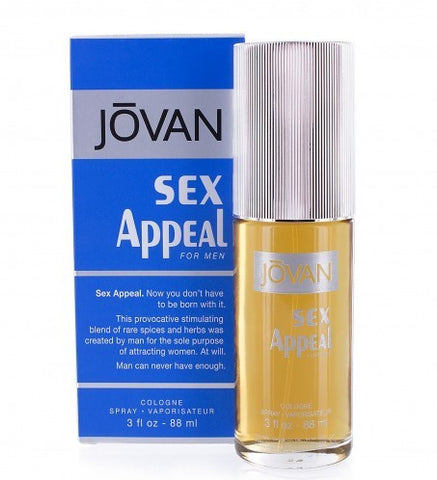 Jovan Sex Appeal for Men 88ml Jovan Scents - Periwinkle Online