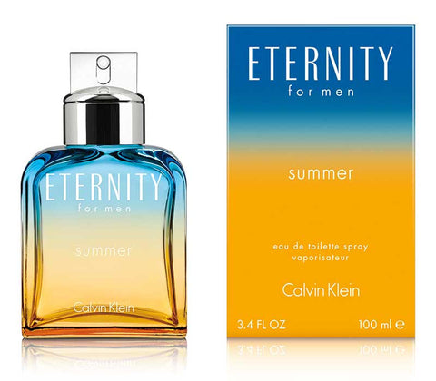 CK Eternity for Men Summer 100ml Calvin Klein Scents - Periwinkle Online