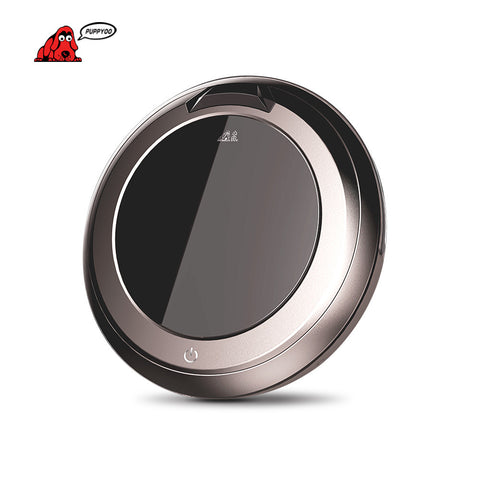 PUPPYOO Multi-functional Intelligent Robotic Vacuum Cleaner Self-Charge Side Brush V-M611