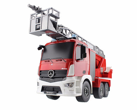 Free Shipping | 2.4G Radio Control Construction RC Fire Truck OEM - iWynx