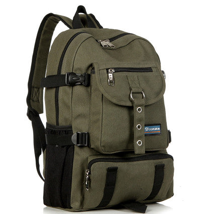 2017 Shouider Canvass School Backpack for Men - Periwinkle Online