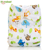 2017 Washable Baby Cloth Diaper Cover Waterproof Suit 0-2y/old 3-15kg - Periwinkle Online