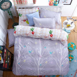 4pcs/3pcs Duvet Cover Sets Soft Polyester Sheet Set Dream NS AliExpress - Periwinkle Online