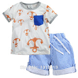 100% Cotton Baby Summer Baby Clothing Set for Boys OEM AliExpress - Periwinkle Online